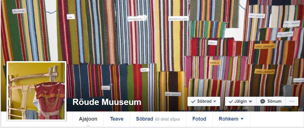 Rõude muuseum Facebookis